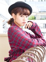 リビングユー(Livingu you)ナチュラルかわいいカジュアルおしゃれ人気帽子アレンジヘア