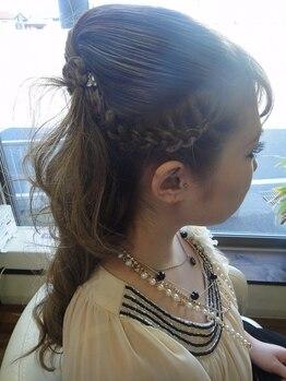 アグリームヘアー(Agleam Hair)の写真/結婚式/2次会/合コンなど…特別な日は《Agleam Hair》で変身!!周りと差のつくセットで注目集める華やかさ★