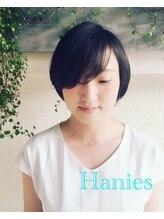 ハニーズ(Hanies)オトナ可愛いショートボブ♪