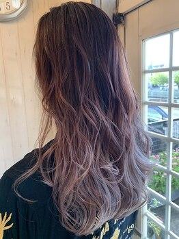 アイヘアー(AI HAIR)の写真/カラーなら《AI HAIR》にお任せ♪トレンド先取りのカラーでダメージを抑えつつ憧れの透明感ある美しい髪に!