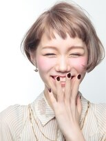 オブヘアー 鷺沼店(Of HAIR)K ミルクティーカラー