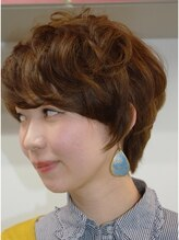 ヘアーフォーブリコス(hair for Brico's)大人可愛いショートスタイル