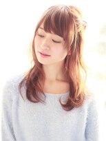 クィーンズガーデンバイケーツーギンザ(QUEEN'S GARDEN by K two GINZA)[K-two銀座]ゆるふわ愛されミディ夏のヘアアレンジ