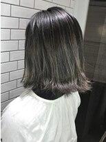 アンジェリカ ハラジュク(Angelica harajuku)【Angelica 白石研太】3Dハイライト グレージュカラーボブ☆