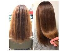 ヘアサロン コンパス(Hair Salon compass)の雰囲気(目指せ!艶髪美人!!くせ毛・うねりを改善すれば、ツヤ感もUP)
