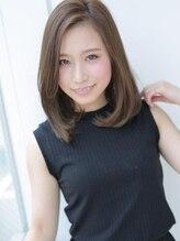 アグ ヘアー プリュネ 和歌山駅前2号店(Agu hair prune)ふわっと女性らしい☆大人のハニーヘア