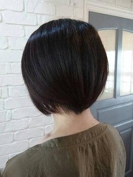 ヘアーワークス バレル(HAIR WORKS Barrel)の写真/トリートメントとクイックスパで髪への負担を抑えるからファッションカラーを楽しめる☆クーポン多数◎