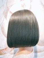 ボンズサロン(BONDZSALON)大人っぽい上質な艶髪ボブ×髪質改善縮毛矯正【麻布十番六本木】