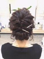 ブレッザヘアー(Brezza hair)パーティーアップ×波ウエーブ×Brezza hair 笹塚