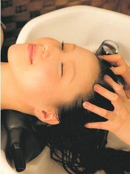 ブローチェアヴェダの写真/specialな贅沢ヘアケアコース!頭部の癒しとヘアケアが両方叶う。AVEDAのヘッドスパで極上のひと時を―。