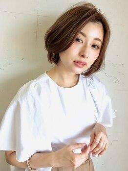 リジェール 高辻店の写真/初めての白髪染めも選べるカラーで好みの色に!いつでもオシャレでいたい大人女性の願いを叶えるサロン☆