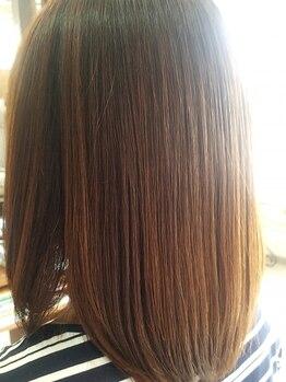 オッジ ヘアー(Oggi Hair)の写真/【なめらかな指通りを体感】あらゆる髪質に合わせたトリートメントをご用意!理想のうるツヤ髪が叶います♪