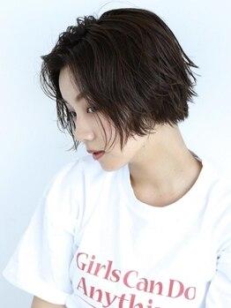 コットン(cotton)の写真/浦和cottonのカラーは、髪にも頭皮にも優しい最高品質の薬剤を使用。グレイカラーでも上品な透明感を。