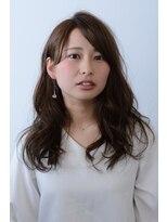 ラ リュエル 町の小さな美容室(La Ruelle.)大人っぽセミデぃ♪ ~shiori~