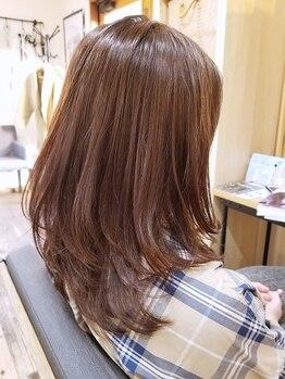 アリシアヘアー(ARISHIA hair)の写真/髪の美しさを継続させてくれる《生キューティクルトリートメント》使用。カラーのモチも◎