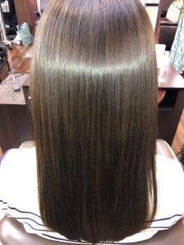 プラウドの写真/サイエンスアクア認定講師ならではの技術で髪質改善しながら美髪に☆つい触りたくなる髪♪と大好評です☆