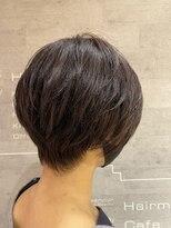 レザボア ヘアーアンドビューティー ハイブ店(reservoir Hair&Beauty Haibe)襟足スッキリ大人ショート