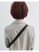 ミシン橙の後ろ髪