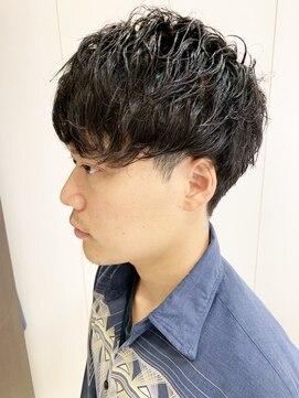 ヘアーアンドグルーミング ヨシザワインク(HAIR&GROOMING YOSHIZAWA Inc.)【ヨシザワ人形町】20代30代ゆるふわマッシュパーマ
