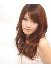 ヘアーサロン キキョウ(hair salon kikyo)ナチュラルエアリーWAVEのセミロングSTYLE
