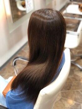 """アヴァンセ(AVANCE)の写真/限られたサロンでしか扱えない""""最高級のAujuaトリートメント""""髪質に合わせているからこそ綺麗になれる♪"""