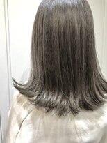 アレーン ヘアデザイン(Alaine hair design)【NAOMI】外ハネボブ×アッシュ
