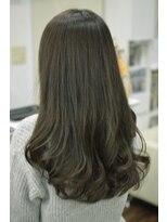 ヘアーデザイン キャンパス(hair design Campus)【ユラめく艶髪☆】イルミナカーキーベージュ♪