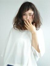 ヘアメイクミチ 中庄店(HAIRMAKE Michi)シースルー前髪×大人ウェーブ