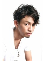 【ツーブロック×パーマ】ワイルドスタイル 『FESS 鶴丸』