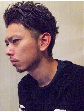ホロホロヘアー(Hair)【ホロホロHairマツウラ】モノトーンサーフスタイル