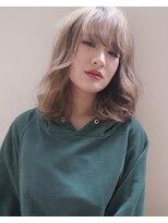 シキオ ヘアデザイン(SHIKIO HAIR DESIGN FUK)外人風カラー