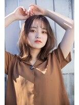 ヘアーサロン リアン 熊谷2号店(hair salon Rien)☆大人気#透明感#シナモンベージュ