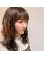 ヘアーエスクールフェイス(hair S. COEUR face)初カラー☆イルミナカラー