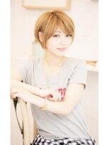【BAYROOM横浜】流し前髪×すっきりショート(吉田遼平)