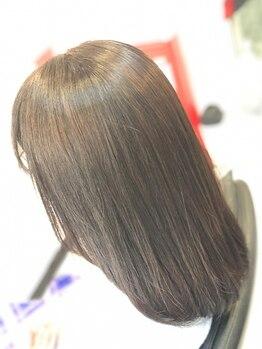 ガジロウ 美容室 蛾次郎の写真/トリートメントの常識が変わります!!さらつや美髪髪質改善トリートメントの持続力に注目☆【美容室蛾次郎】