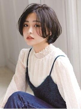 アグ ヘアー ティアラ 泉中央店(Agu hair tiara)ツヤ髪ブルーで潤いインディゴブルー