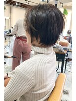 アフロートナゴヤ(AFLOAT NAGOYA)前髪長めのショート【岡村大介】