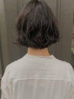 ヘアーアイスカルテット(HAIR ICI QUARTET)ボブ×パーマ