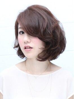ヘアーサロン メイキング(hair salon MaKiNg)の写真/メンテナンスも大胆Changeも!!可愛く見える黄金バランスを熟知し、伸びてもまとまるStyleが続く☆