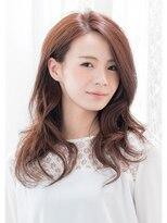 プランタンエーアール(printemps ar)グラマラスウェーブ×艶ピンクオレンジ☆