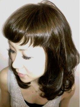 ヘアーサロン メイキング(hair salon MaKiNg)の写真/【髪の美しさを引き出す】髪と環境にやさしい薬剤を使用♪似合うカラーがわからない方も気軽に相談してOK☆