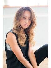 アーサス ヘアー デザイン 広島本通店(Ursus hair Design)大人透明感×ラフルーズウェーブ