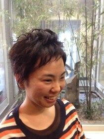 ガーデン ヘアー ワーク(garden hair work)勇気を出して、やっちゃったモン勝ちの秋冬ベリーショート!