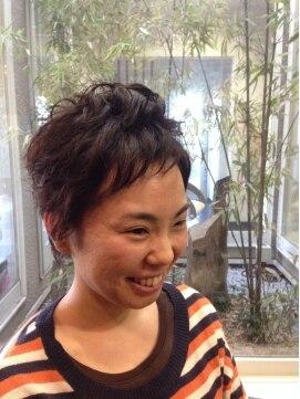 ガーデン ヘアー ワーク(garden hair work)勇気を出して、やっちゃったモン勝ち♪春ベリーショート!