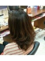 オッジヘアー(Oggi Hair)レイヤーボブのストレート&カールスタイル