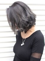 ヘアーデザイン スロープ 稲毛海岸店(Hair Design Slope)アッシュグレーボブ