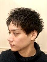 グレイスフル バーバープラチナム 六本木店(Graceful Barber platinum)【理容室】アップバング 刈り上げ