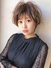 アグ ヘアー ミーア 高円寺店(Agu hair mire)大人かわいいゆるふわ小顔マッシュショート