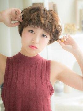 モッズ ヘア 越谷店(mod's hair)…mod's越谷…個性ある女の子ショートa