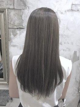 プーラヴィーダ(Pura Vida)の写真/【姫路駅徒歩2分】気になるうねり、ひろがり、くせもまとまり扱いやすい髪質に♪トリートメントで質感UP☆